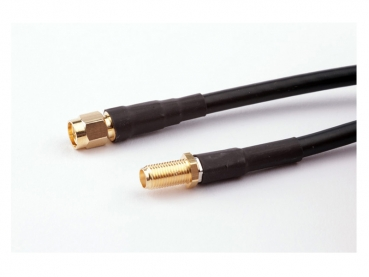 Antenna cable LowLoss 10m SMA(f)/SMA(m)